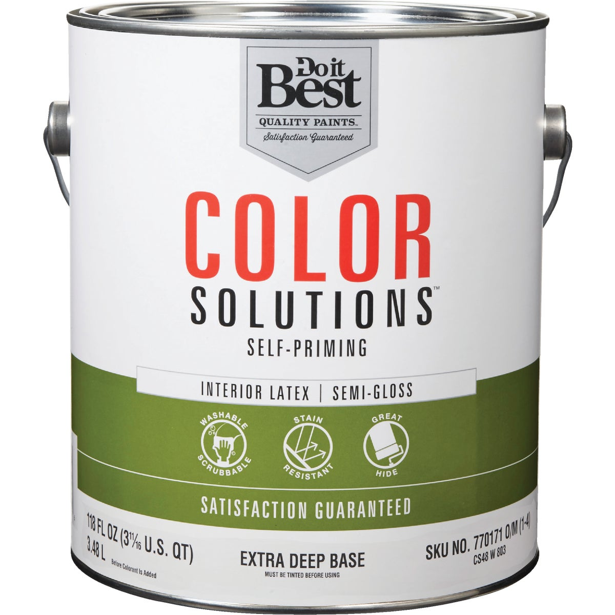 INT S/G EX DEEP BS PAINT - CS48W0803-16 by Do it Best