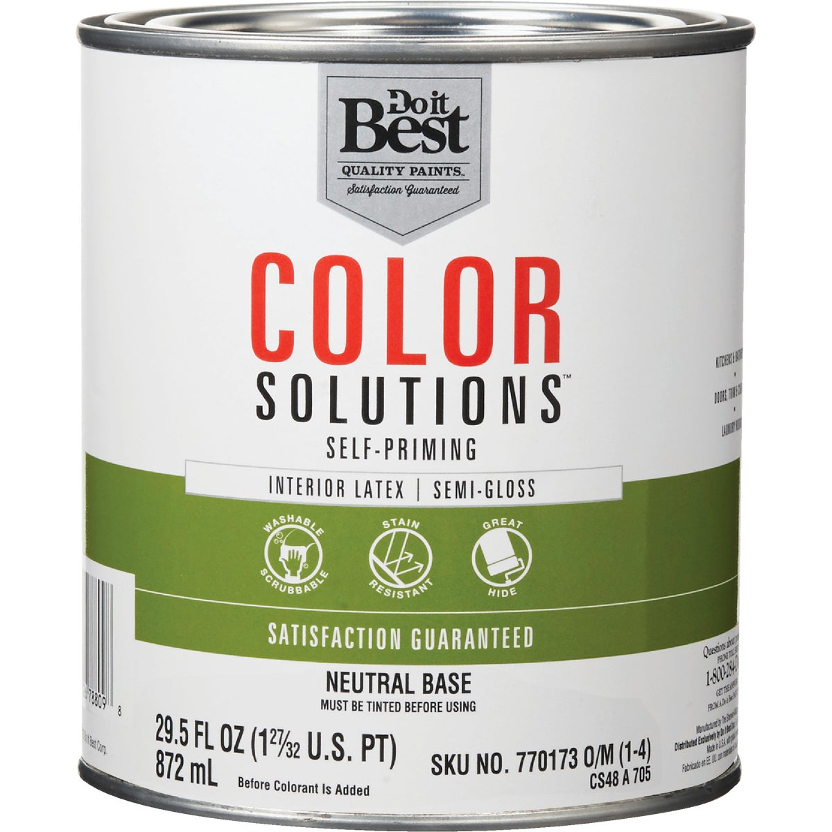 INT S/G NEUTRAL BS PAINT - CS48A0705-14 by Do it Best