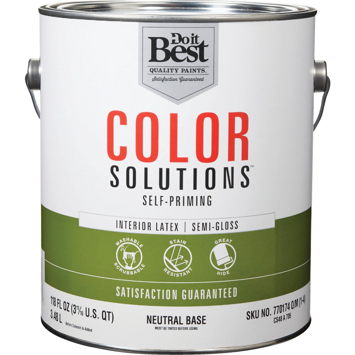 INT S/G NEUTRAL BS PAINT - CS48A0705-16 by Do it Best