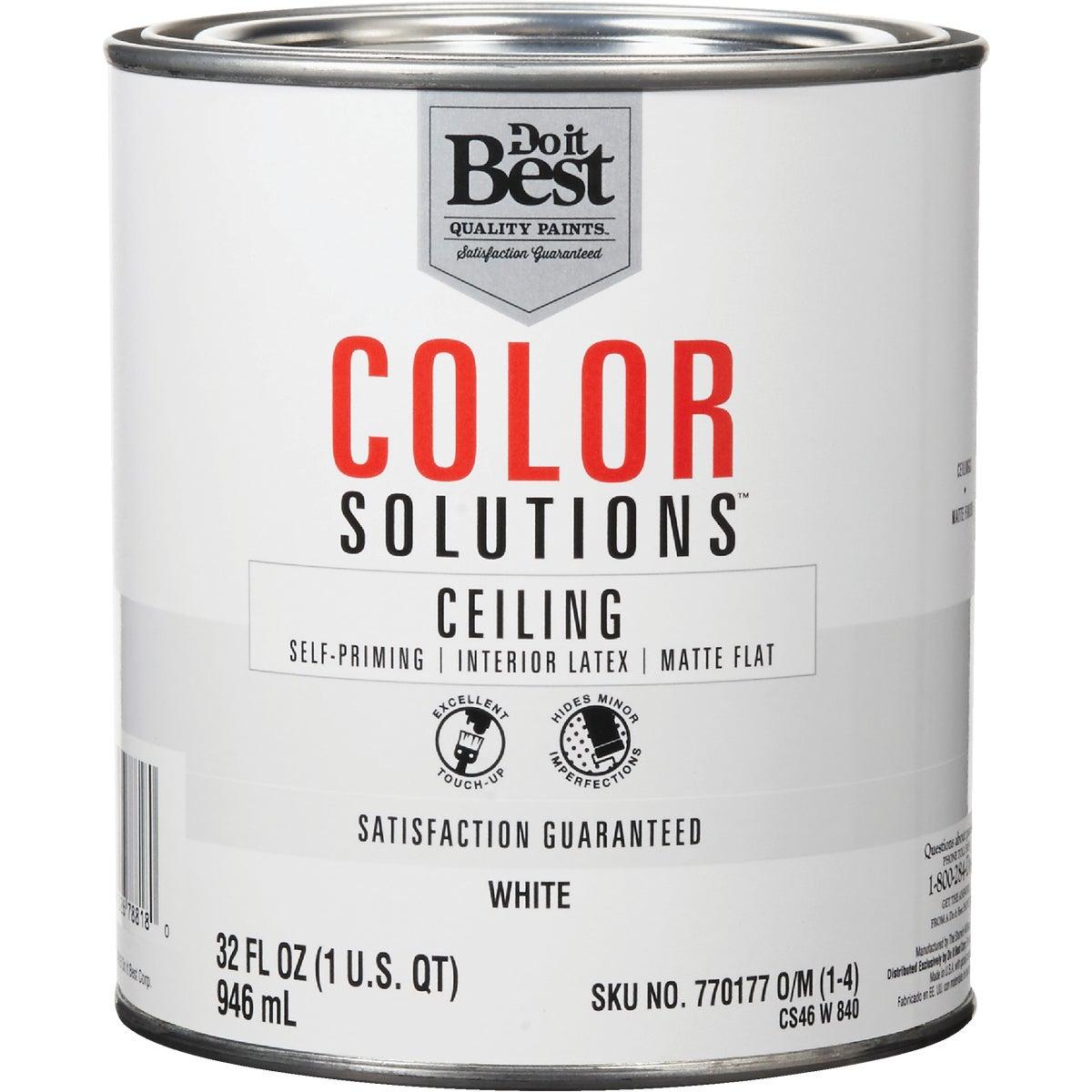 FLAT WHITE CEILING PAINT - CS46W0840-44 by Do it Best