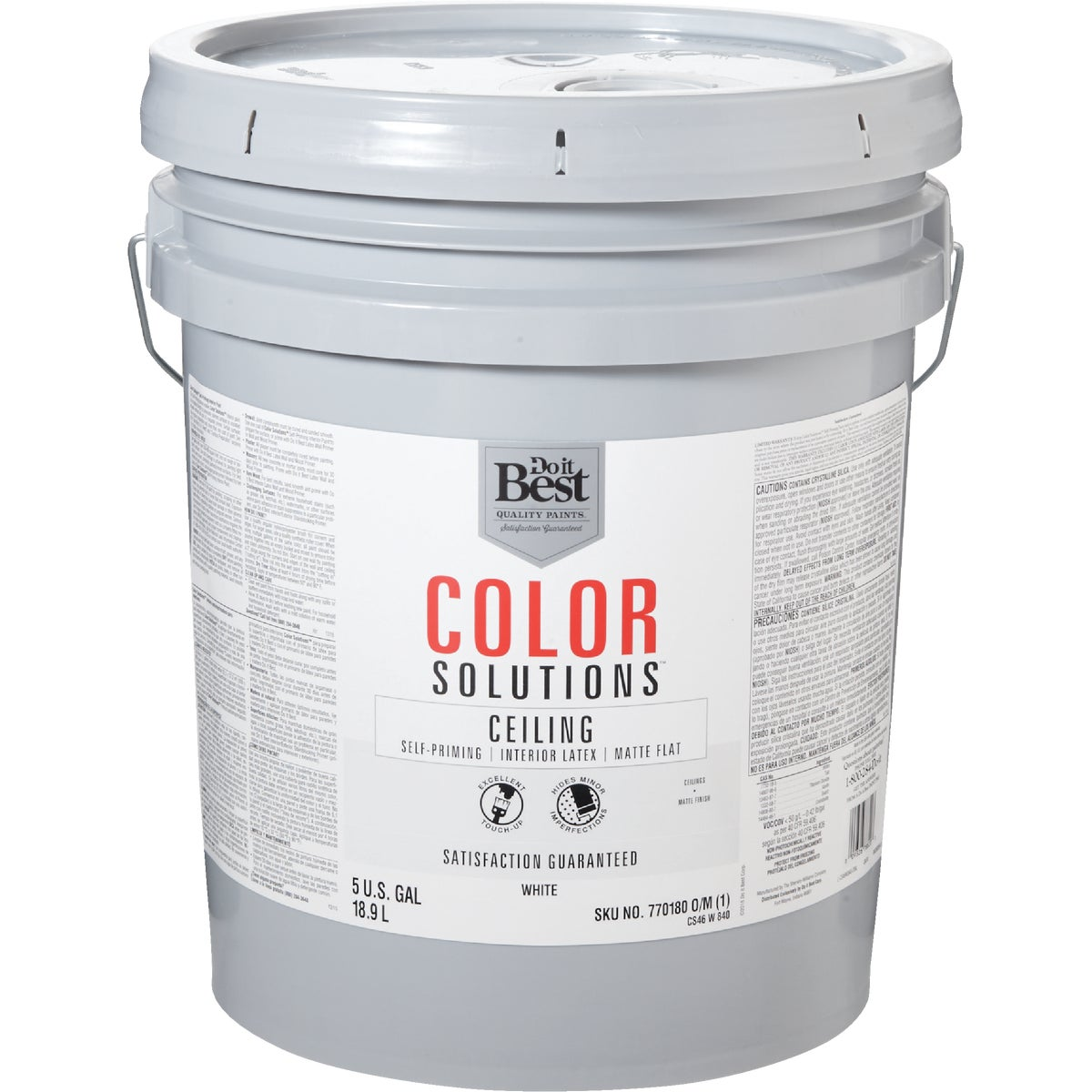 FLAT WHITE CEILING PAINT - CS46W0840-20 by Do it Best