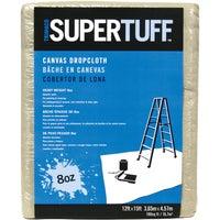 Trimaco SuperTuff Heavyweight Canvas Drop Cloth, 58903