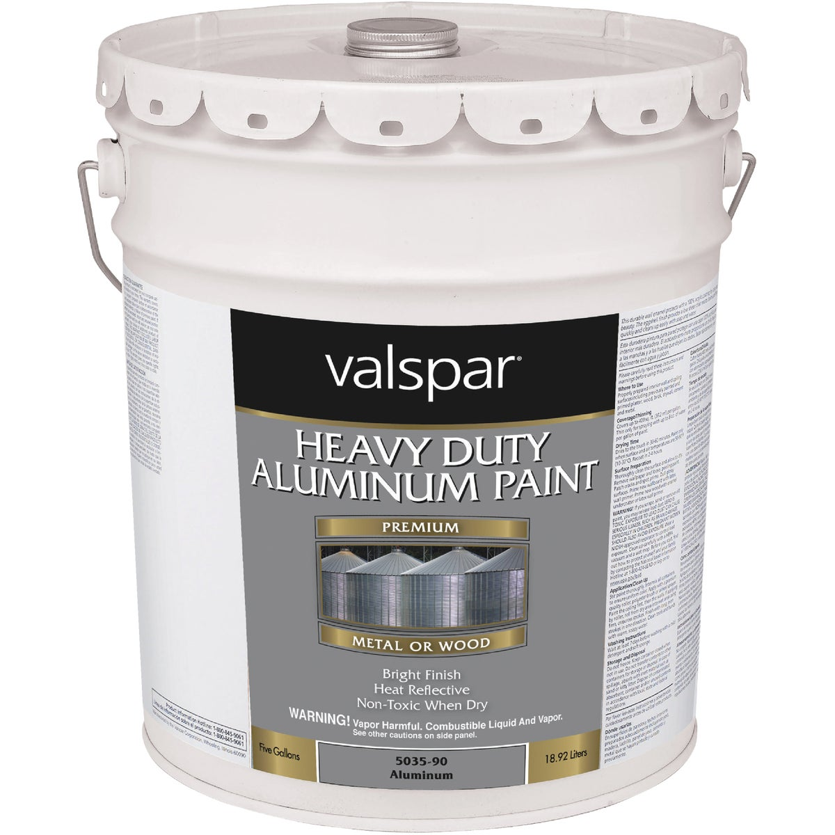 HD ALUMINUM PAINT - 018.5035-90.008 by Valspar Corp