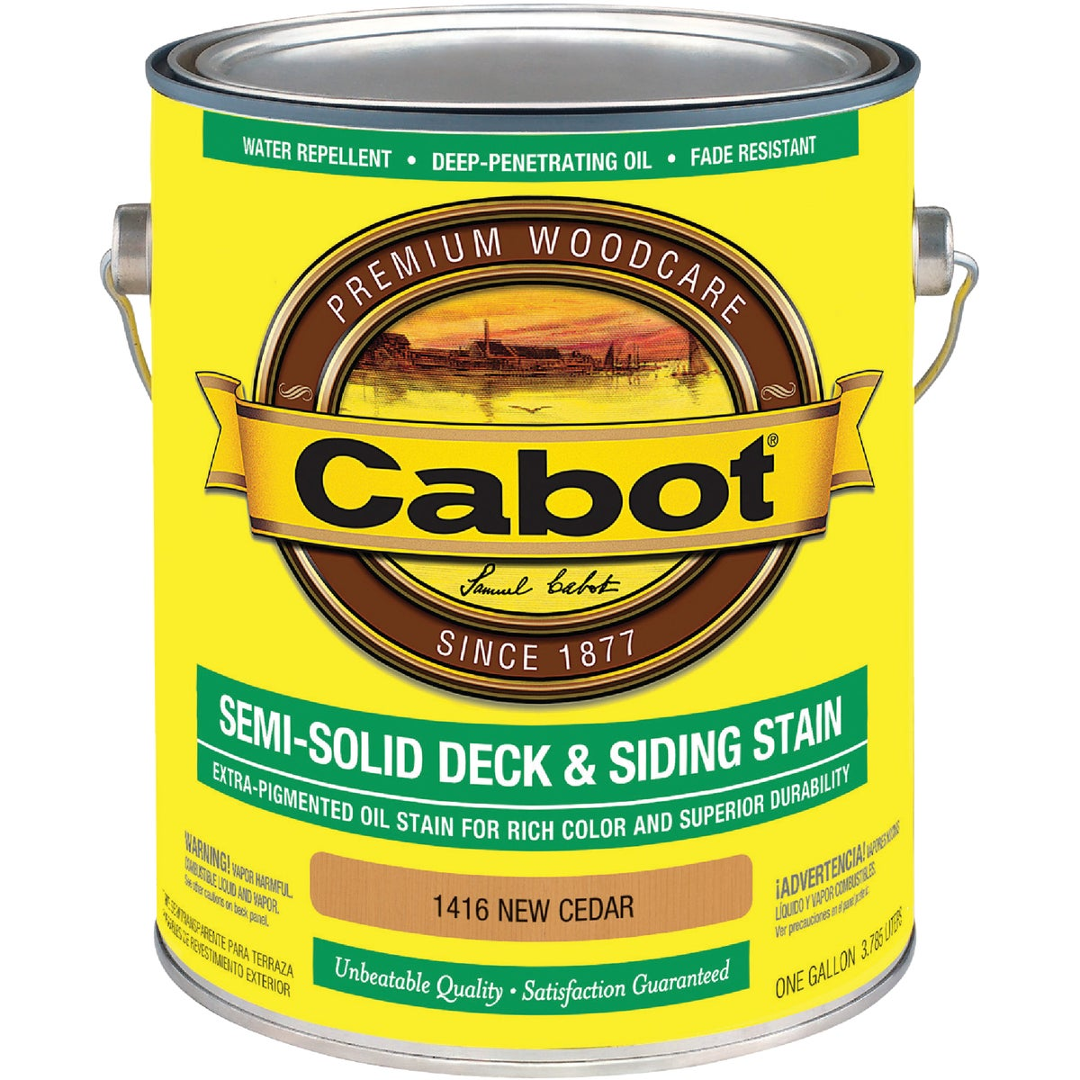 NEW CEDAR S/S DECK STAIN - 140.0001416.007 by Valspar Corp