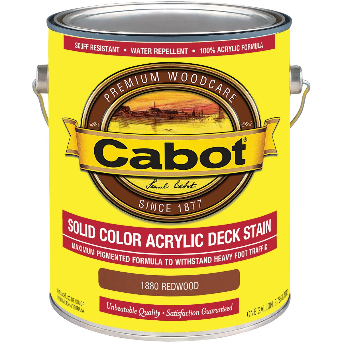 REDWOOD SOLID DECK STAIN - 140.0001880.007 by Valspar Corp