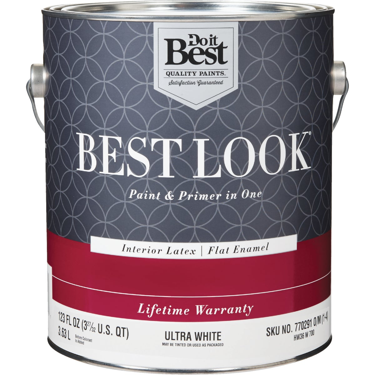 INT FLAT ULTRA WHT PAINT - HW36W0700-16 by Do it Best