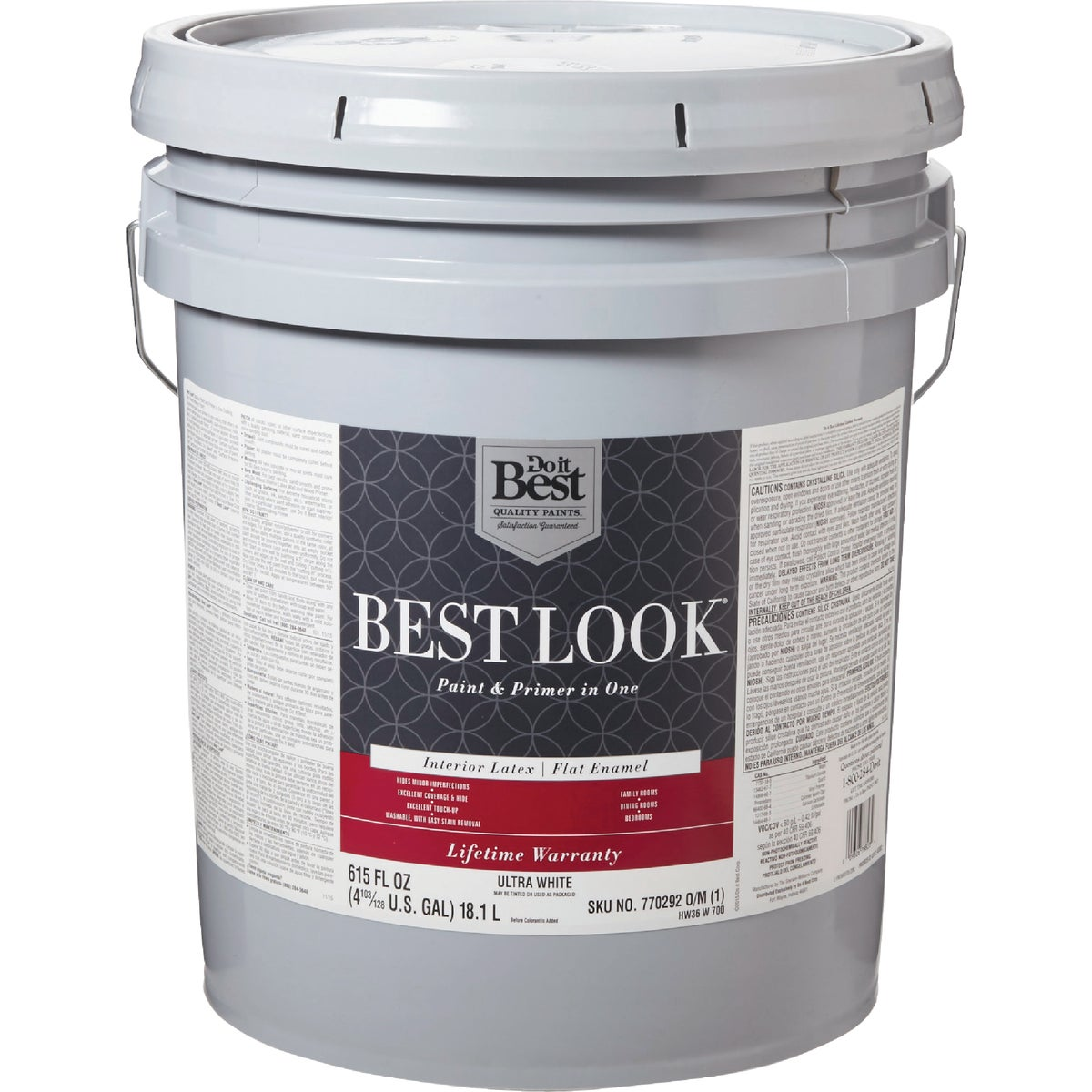 INT FLAT ULTRA WHT PAINT - HW36W0700-20 by Do it Best