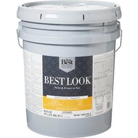 Best Look Latex Paint & Primer In One Eggshell Interior Wall Paint, HW34W0800-20