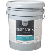 Best Look Latex Paint & Primer In One Satin Interior Wall Paint, HW33W0800-20