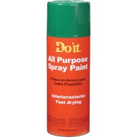 Rust Oleum GREEN A/P SPRAY PAINT 9005