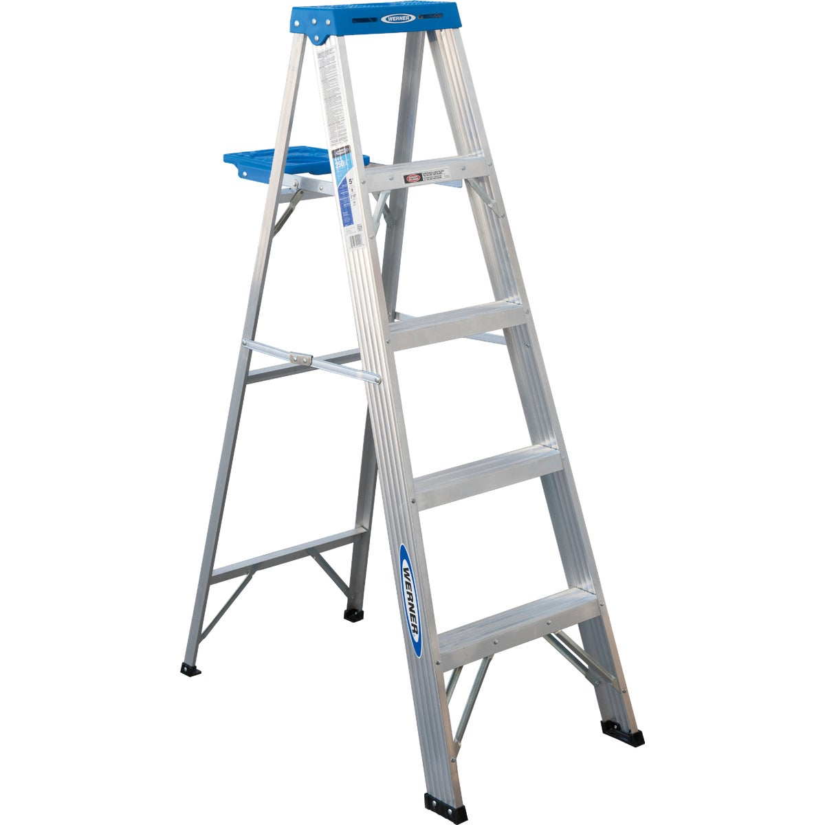 T-1 5' ALUM STEPLADDER - 365 by Werner Ladder