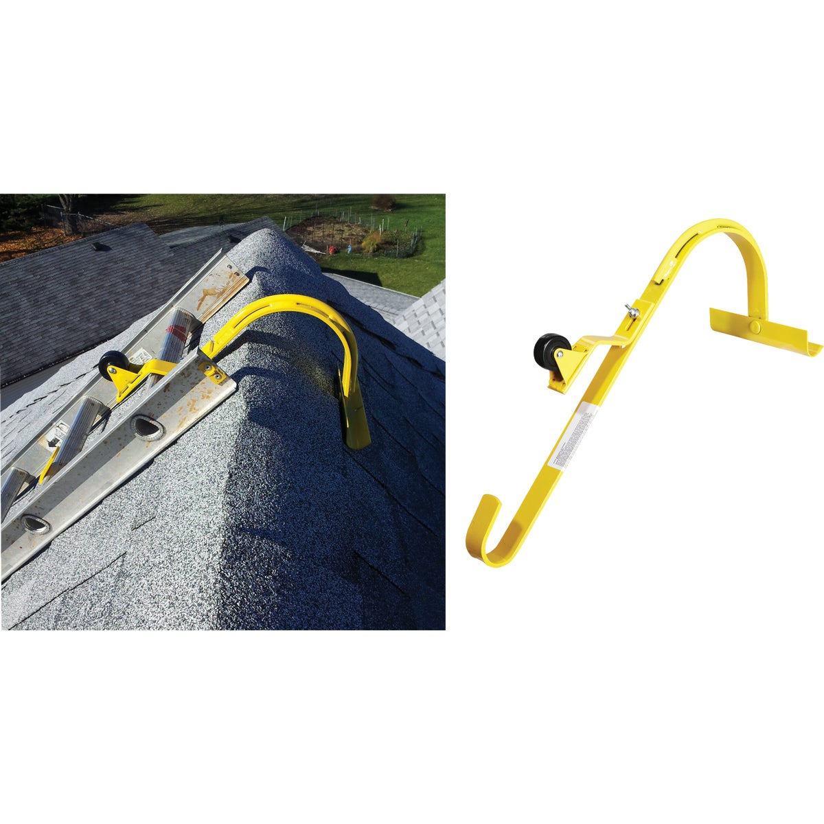 LADDER HOOK HDW/WHEELS - 11082 by Acro Building Systems