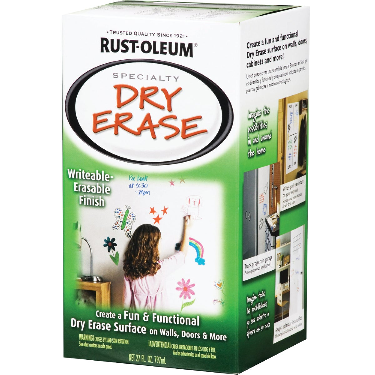 DRY ERASE KIT - 241140 by Rustoleum