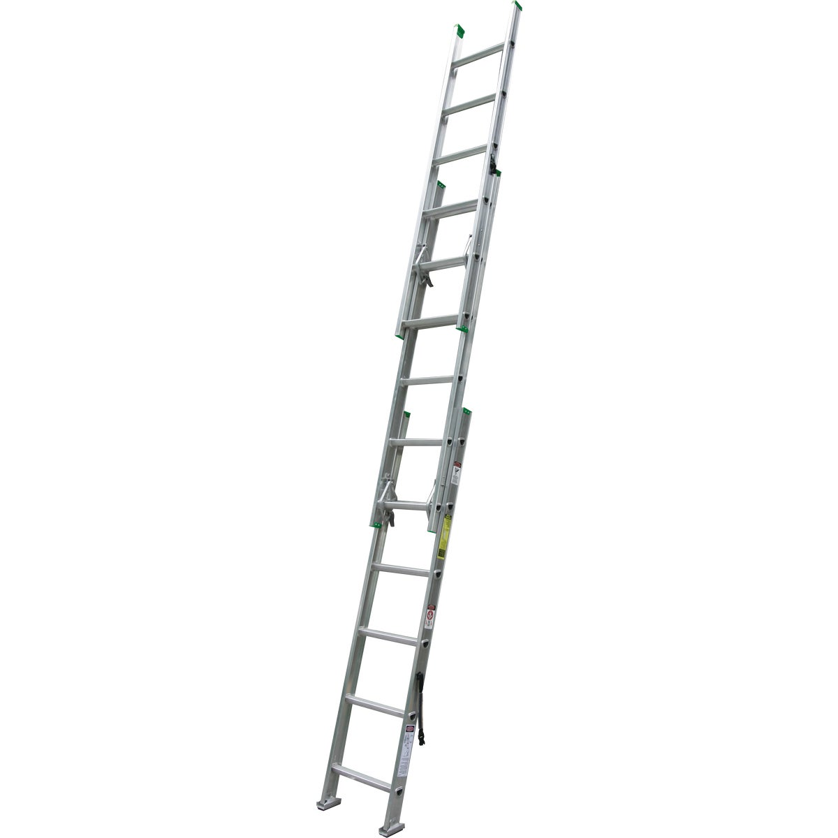 16' ALUM COMP EXT LADDER - D1216-3 by Werner Ladder