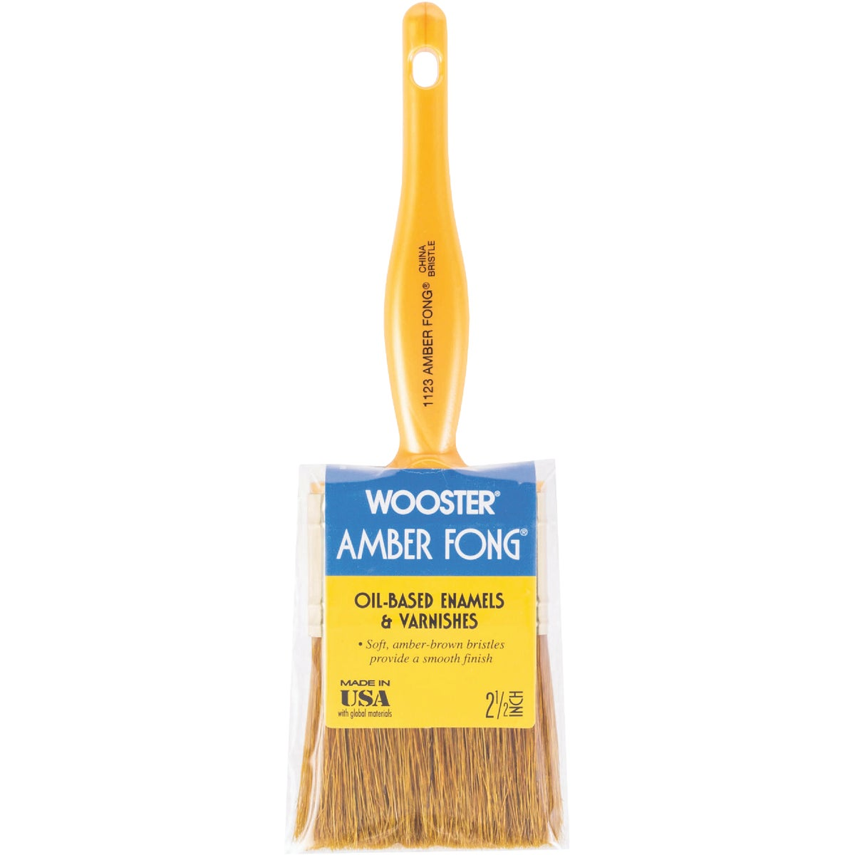 "2.5"" AMBR FONG PNT BRUSH - 1123-2 1/2"" by Wooster Brush Co"
