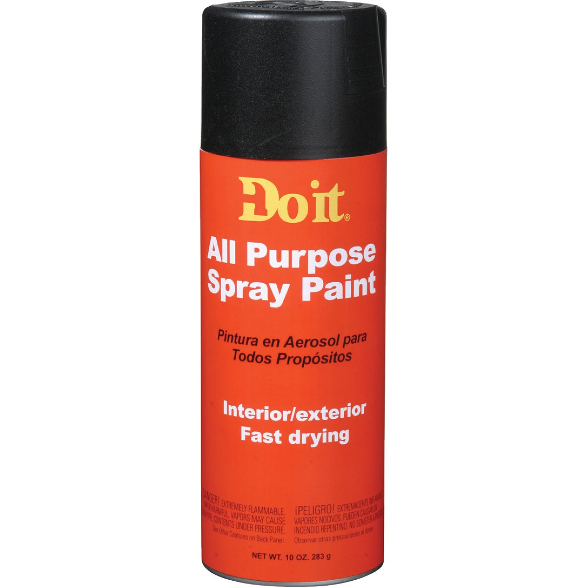 FLAT BLK A/P SPRAY PAINT - 9002 by Rustoleum
