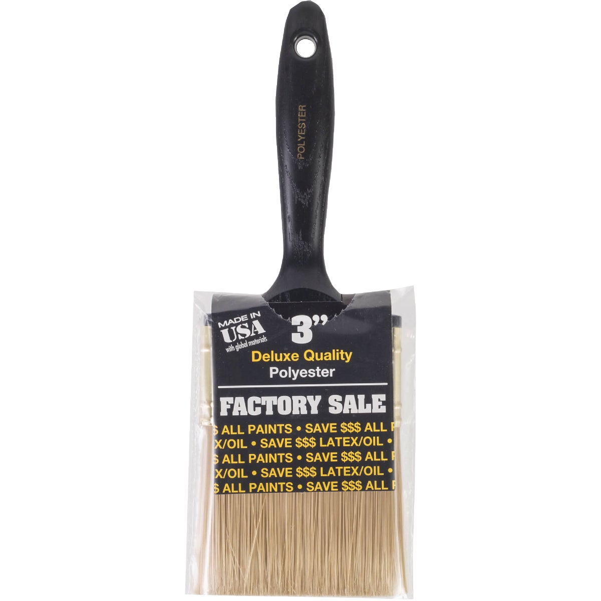 "3"" FACTORY VARNISH BRUSH"