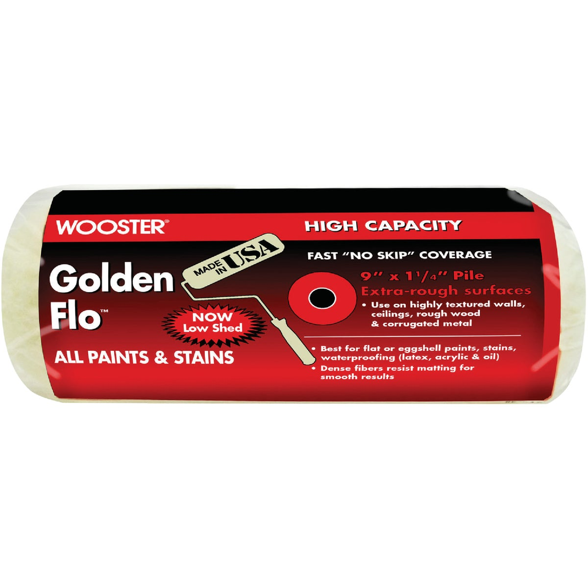 "9X1-1/4"" ROLLER COVER - RR664-9"" by Wooster Brush Co"