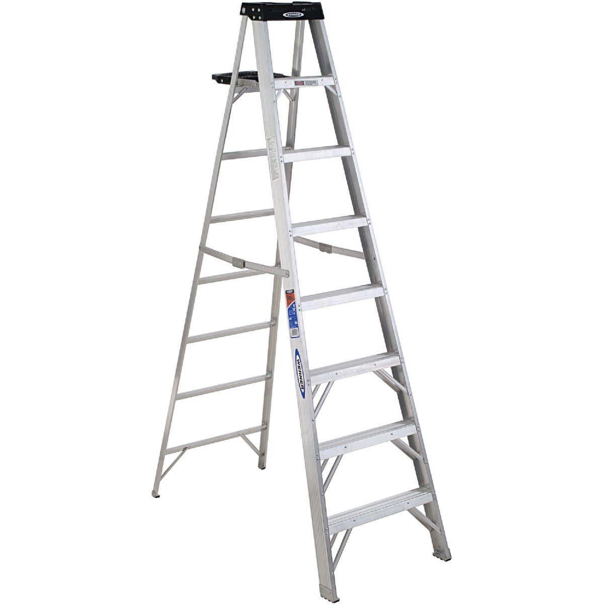T-1A 8' ALUM STEPLADDER - 378 by Werner Ladder