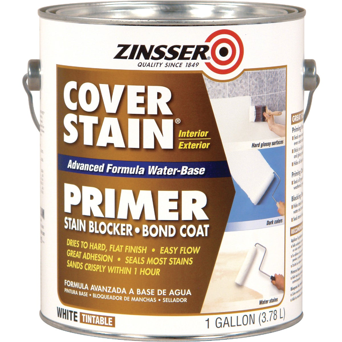W/B COVER STAIN PRIMER - 257017 by Wm Zinsser Co