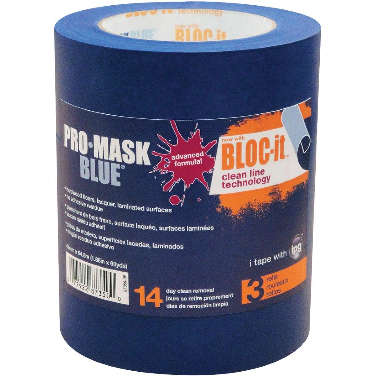 "3PK 2"" PRO BLUEMASK TAPE - 87350-3P by Intertape Polymer"