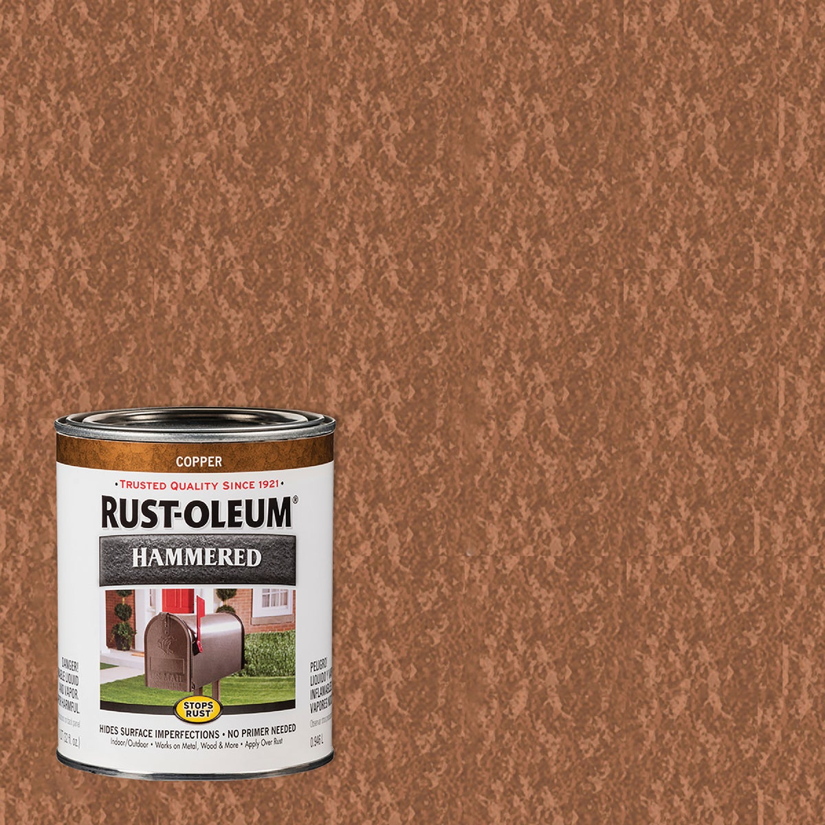 COPPER HAMMERED PAINT - 239074 by Rustoleum