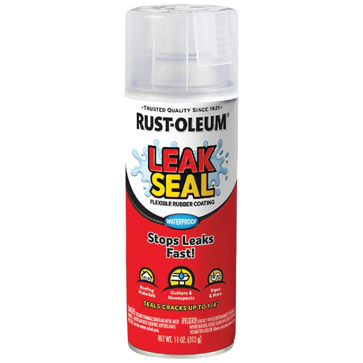 SPRAY CLEAR LEAK SEALER - 265495 by Rustoleum