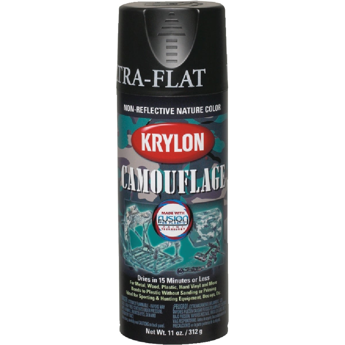 BLACK CAMO SPRAY PAINT - 4290 by Krylon/consumer Div