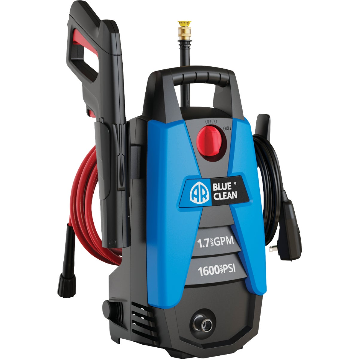 1600PSI PRESSURE WASHER - AR112 by Ar Blue Clean