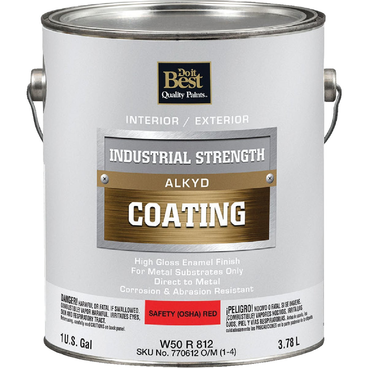 GLS OSHA RED ALKYD PAINT