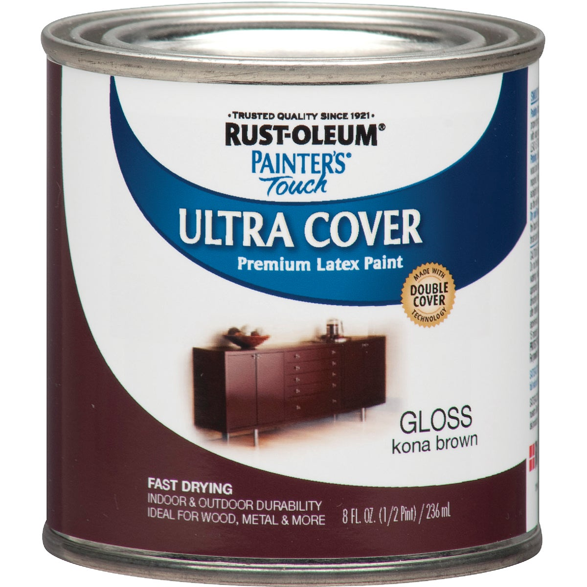 KONA BROWN LATEX PAINT - 1977730 by Rustoleum