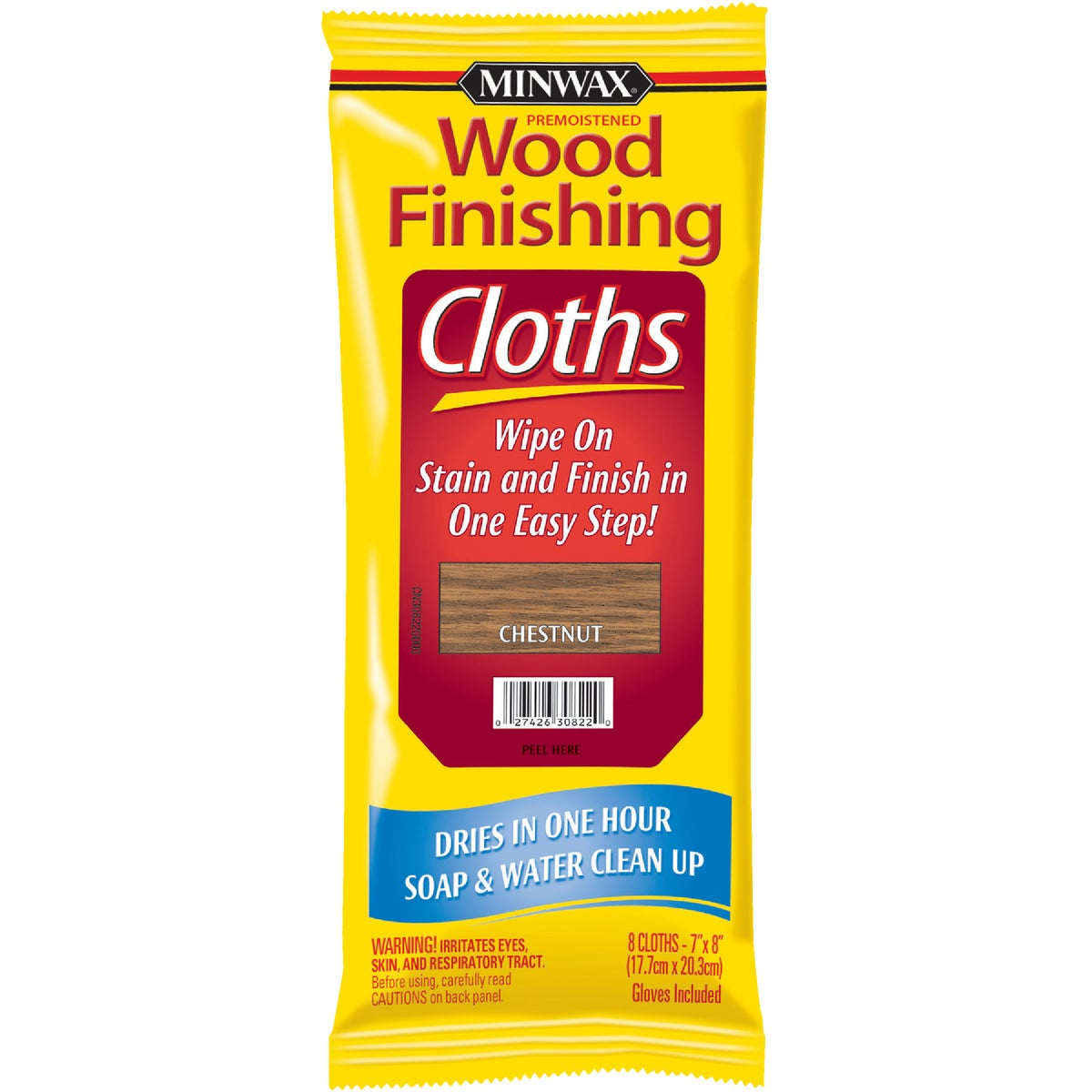 CHESTNUT STAIN CLOTH - 308220000 by Minwax Company