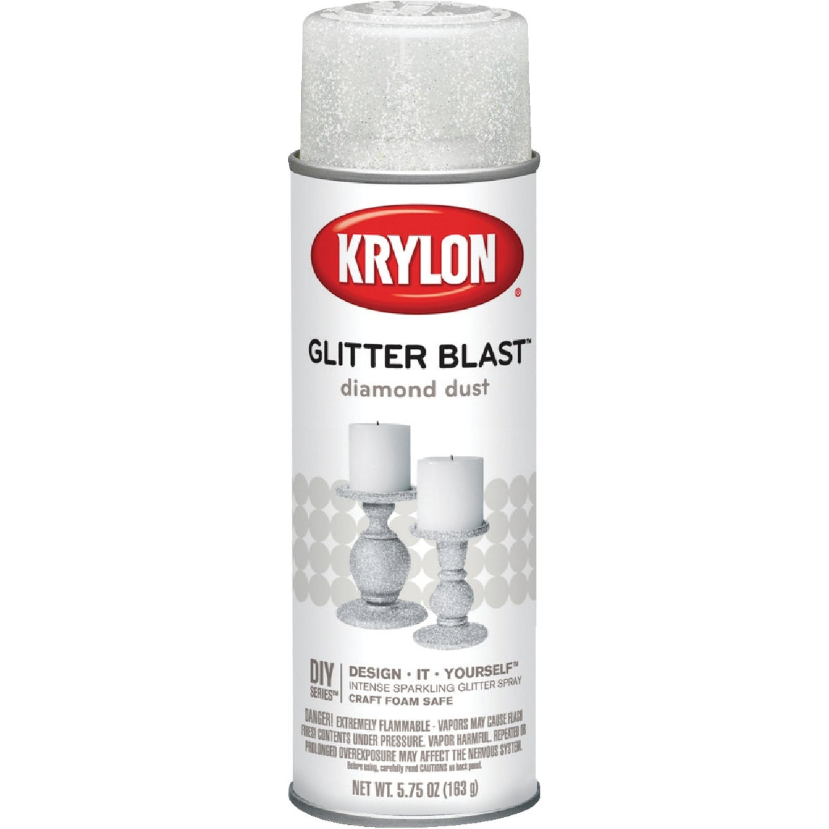DIMND DUST GLITTER SPRAY - K03804000 by Krylon/consumer Div