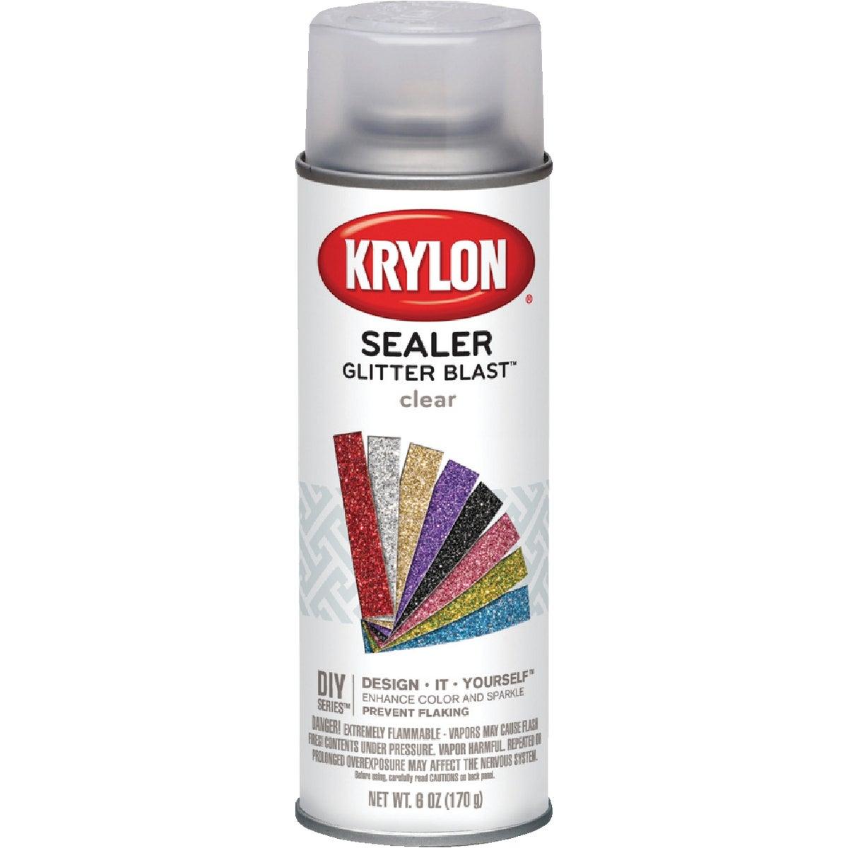 CLR SEALER GLITTER SPRAY - K03800000 by Krylon/consumer Div