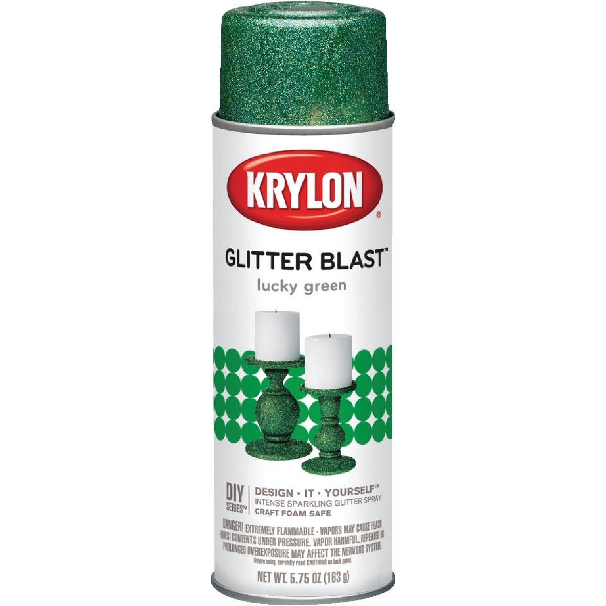 LUCKY GRN GLITTER SPRAY - K03809000 by Krylon/consumer Div
