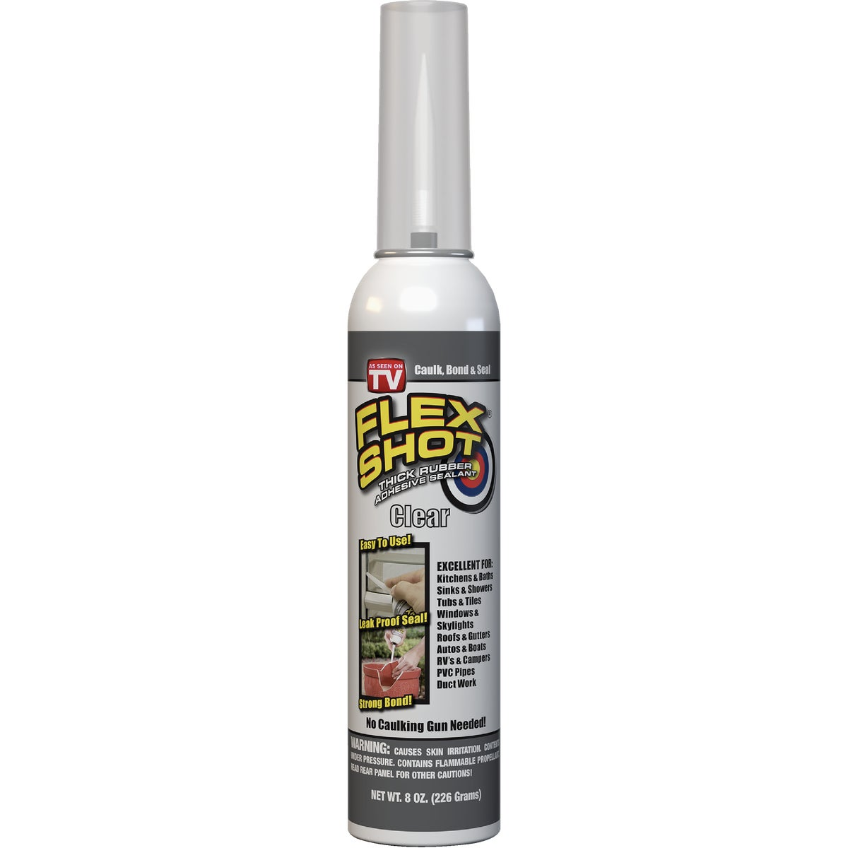 Flex Shot Adhesive Rubber Sealant