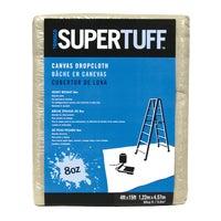Trimaco SuperTuff Heavyweight Canvas Drop Cloth, 58908