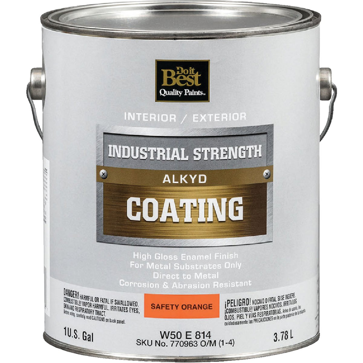 GLS SAF ORNG ALKYD PAINT - W50E00814-16 by Do it Best