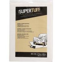 Trimaco SuperTuff Plastic And Paper Combination Drop Cloth, 2301