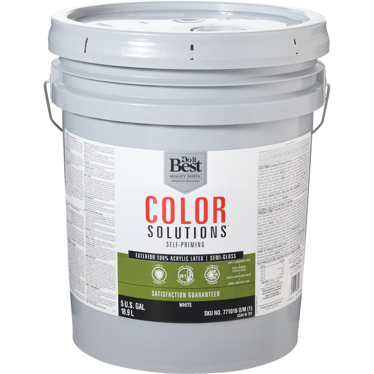 EXT S/G WHITE PAINT - CS49W0701-20 by Do it Best