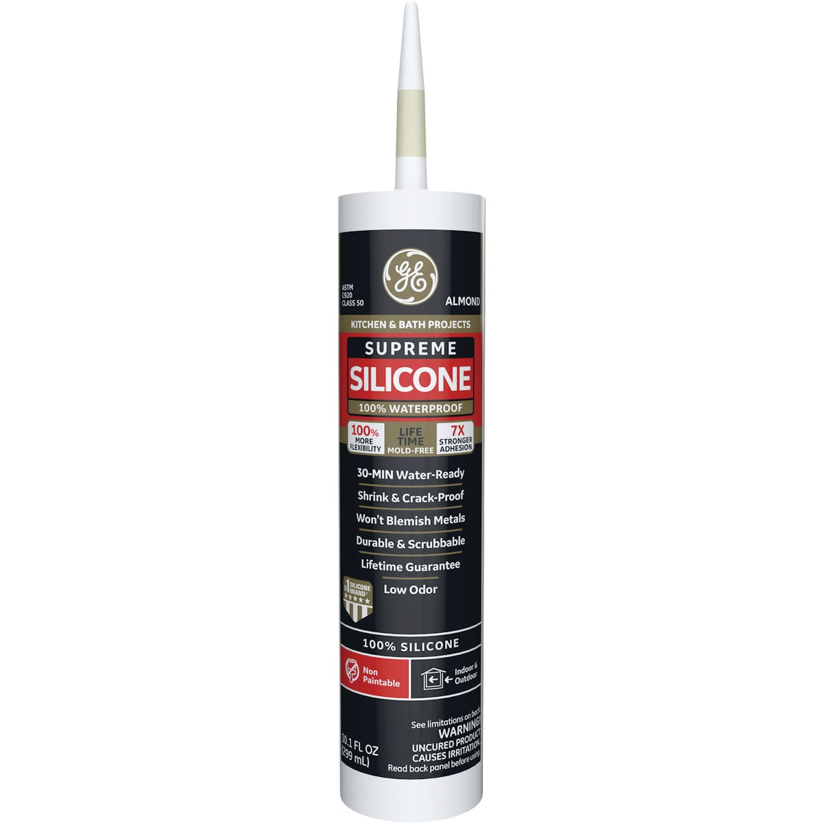 ALMOND KB SUPREME CAULK - M90010 by Momentive Performanc