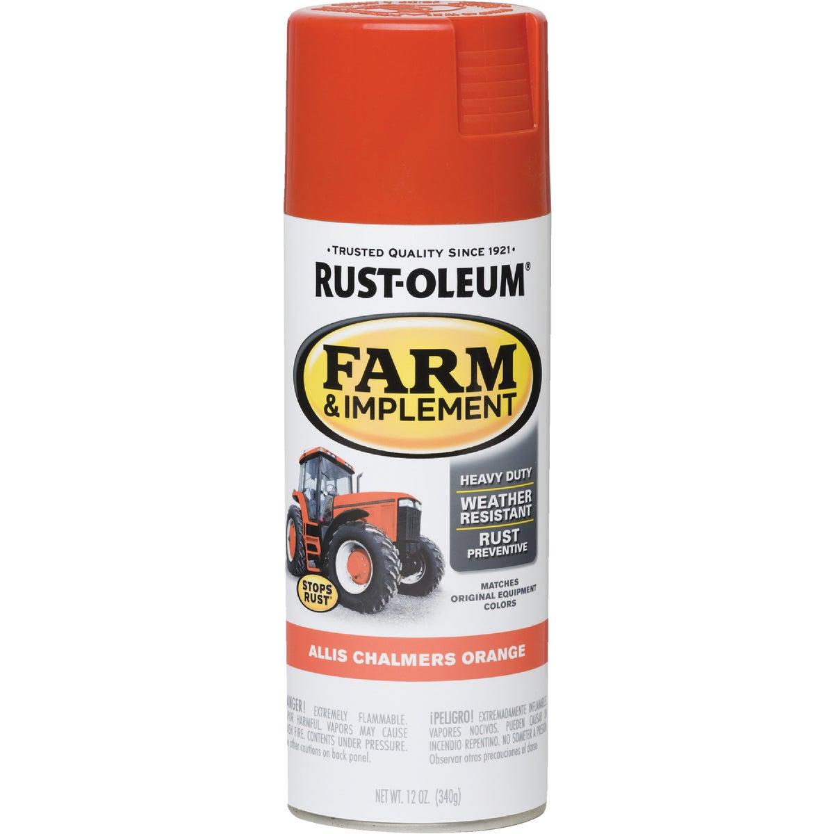 Rust Oleum AC ORANGE SPRAY PAINT 7458-830