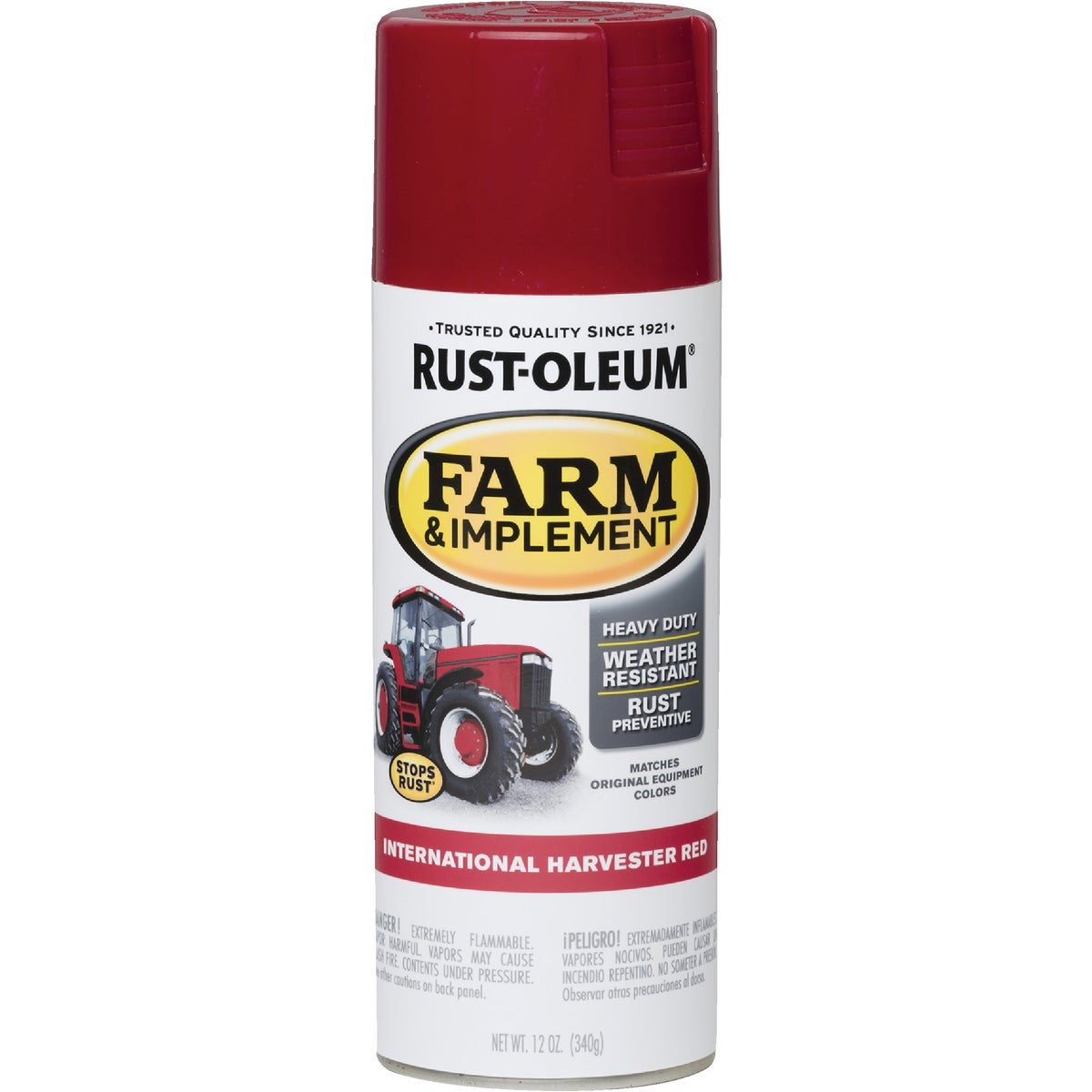 INTL RED SPRAY PAINT - 7466-830 by Rustoleum