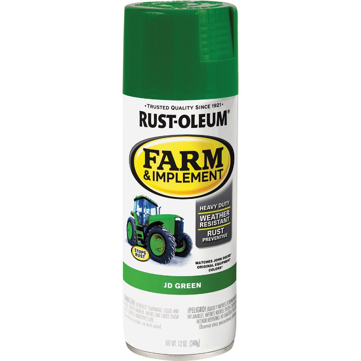 Rust Oleum JD GREEN SPRAY PAINT 7435-830