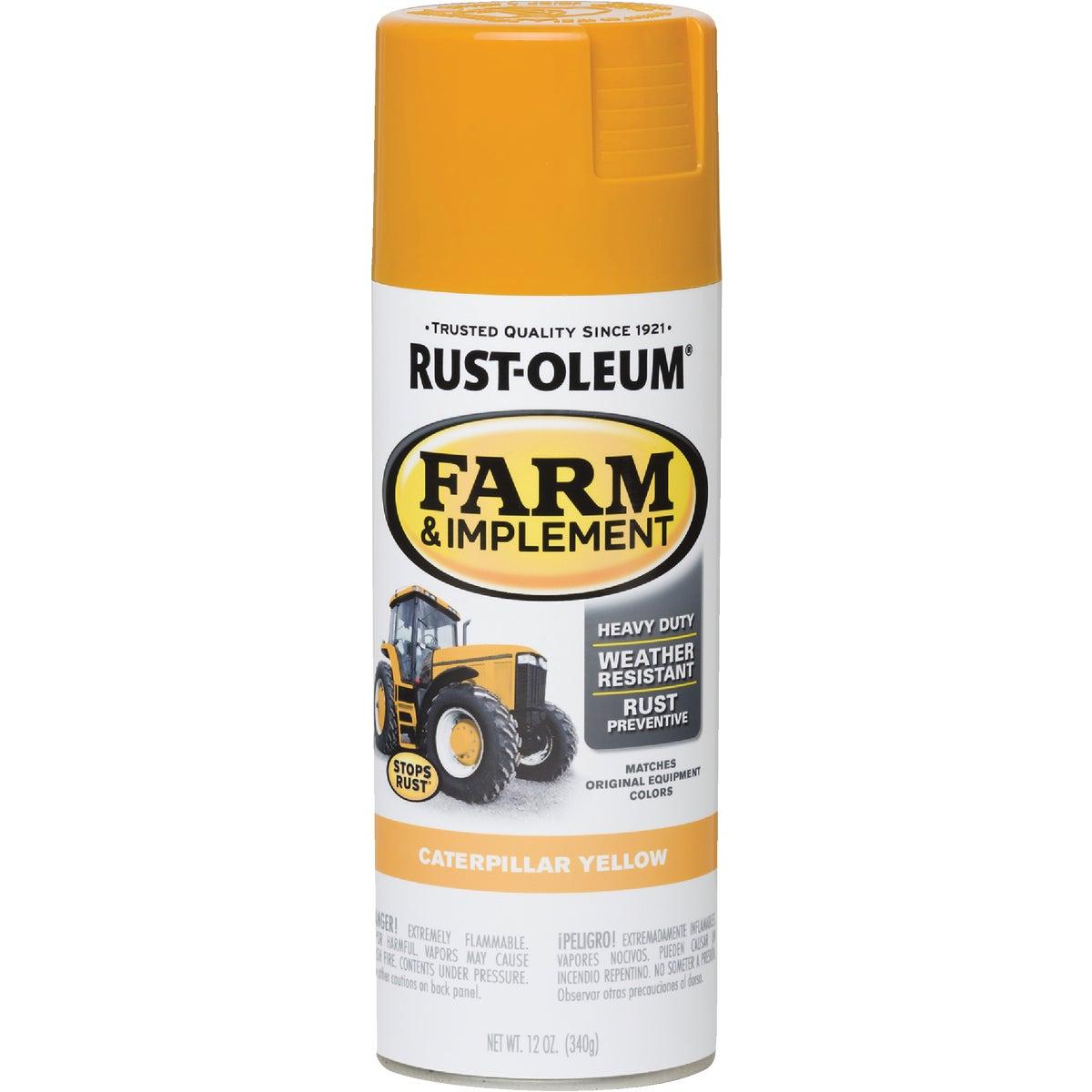 Rust Oleum CAT YELLOW SPRAY PAINT 7449-830
