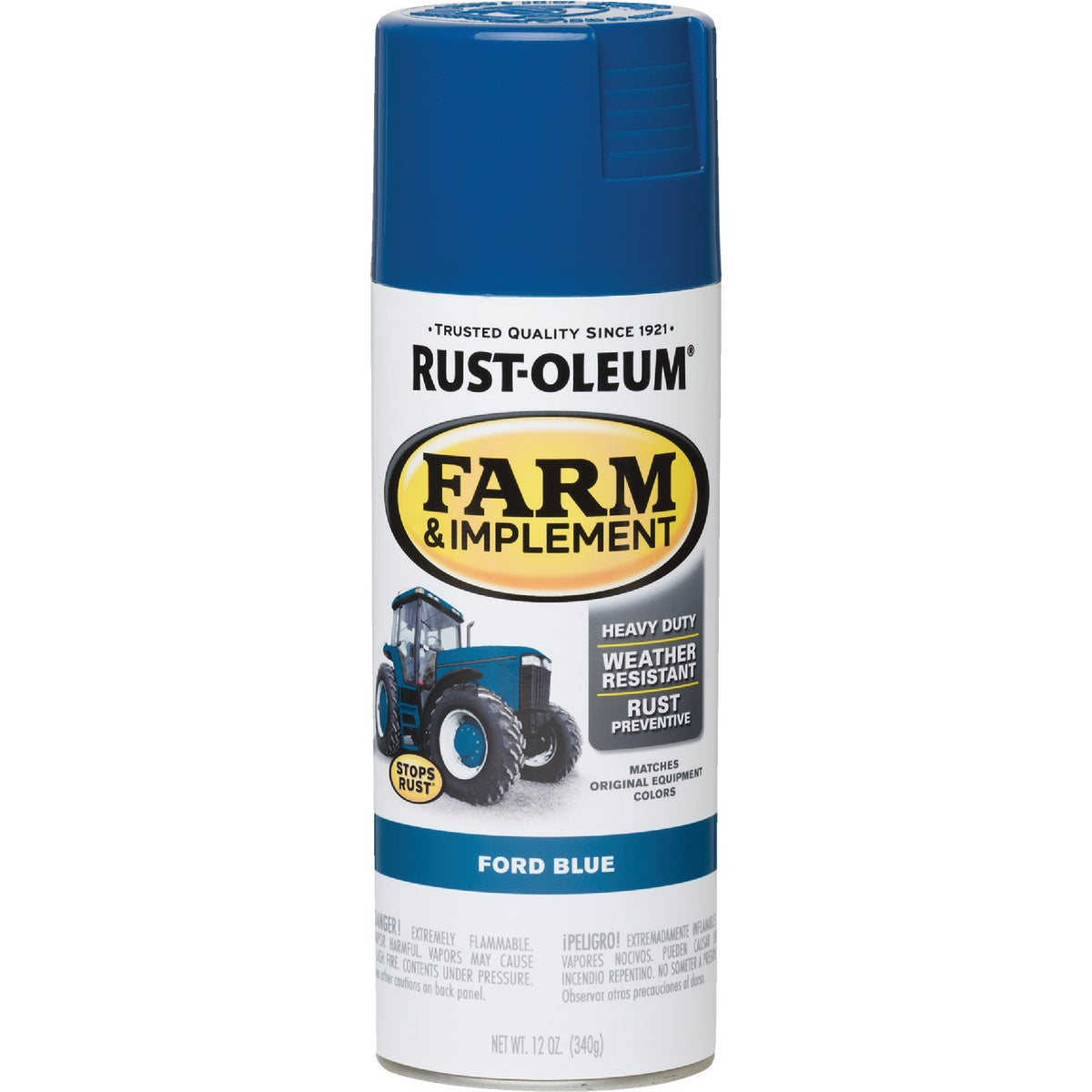 FORD BLUE SPRAY PAINT - 7424-830 by Rustoleum