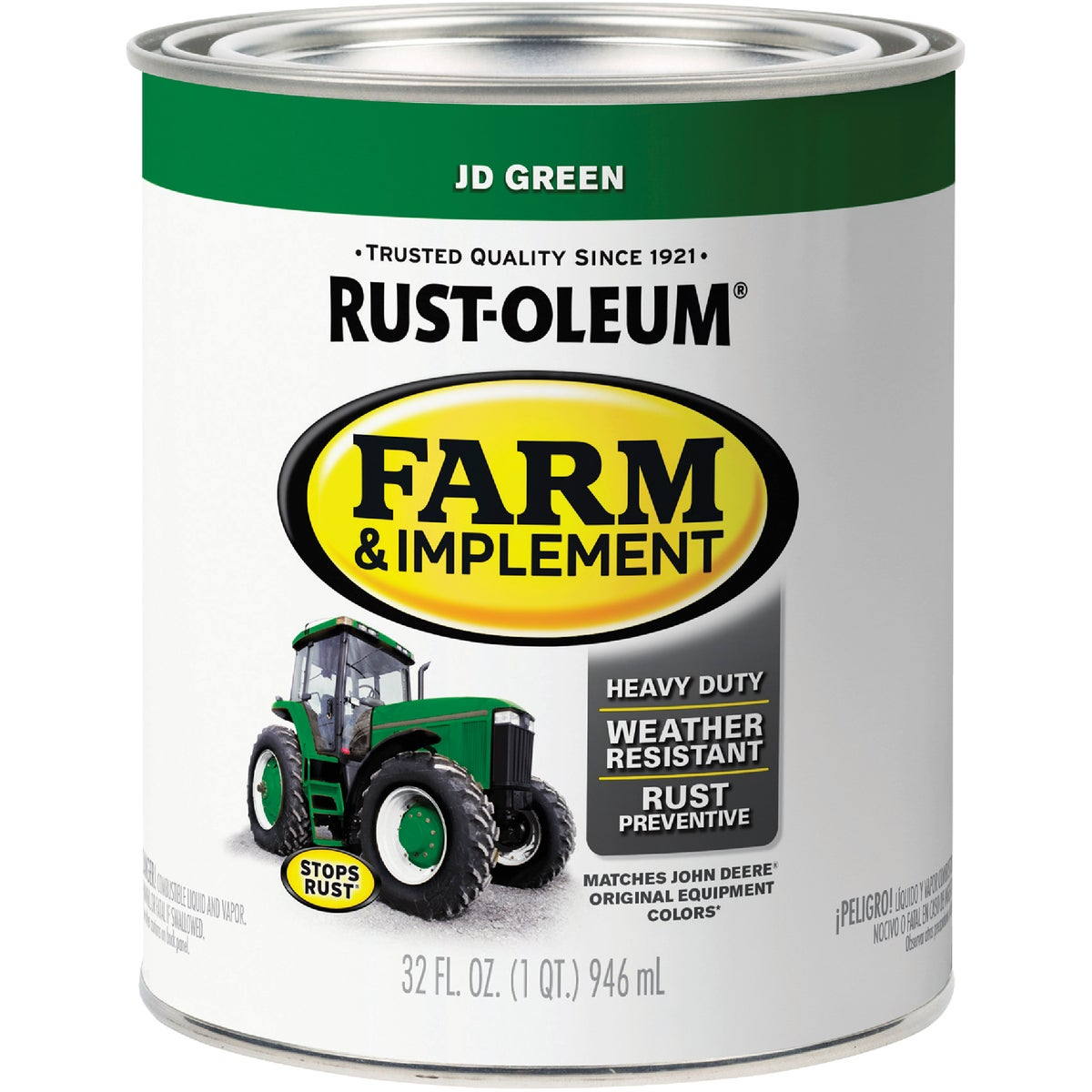 JD GREEN IMPLEMNT ENAMEL - 7435-502 by Rustoleum