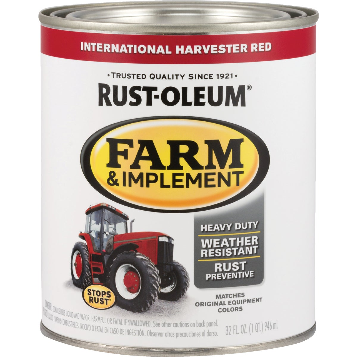 INTL RED IMPLEMNT ENAMEL - 7466-502 by Rustoleum