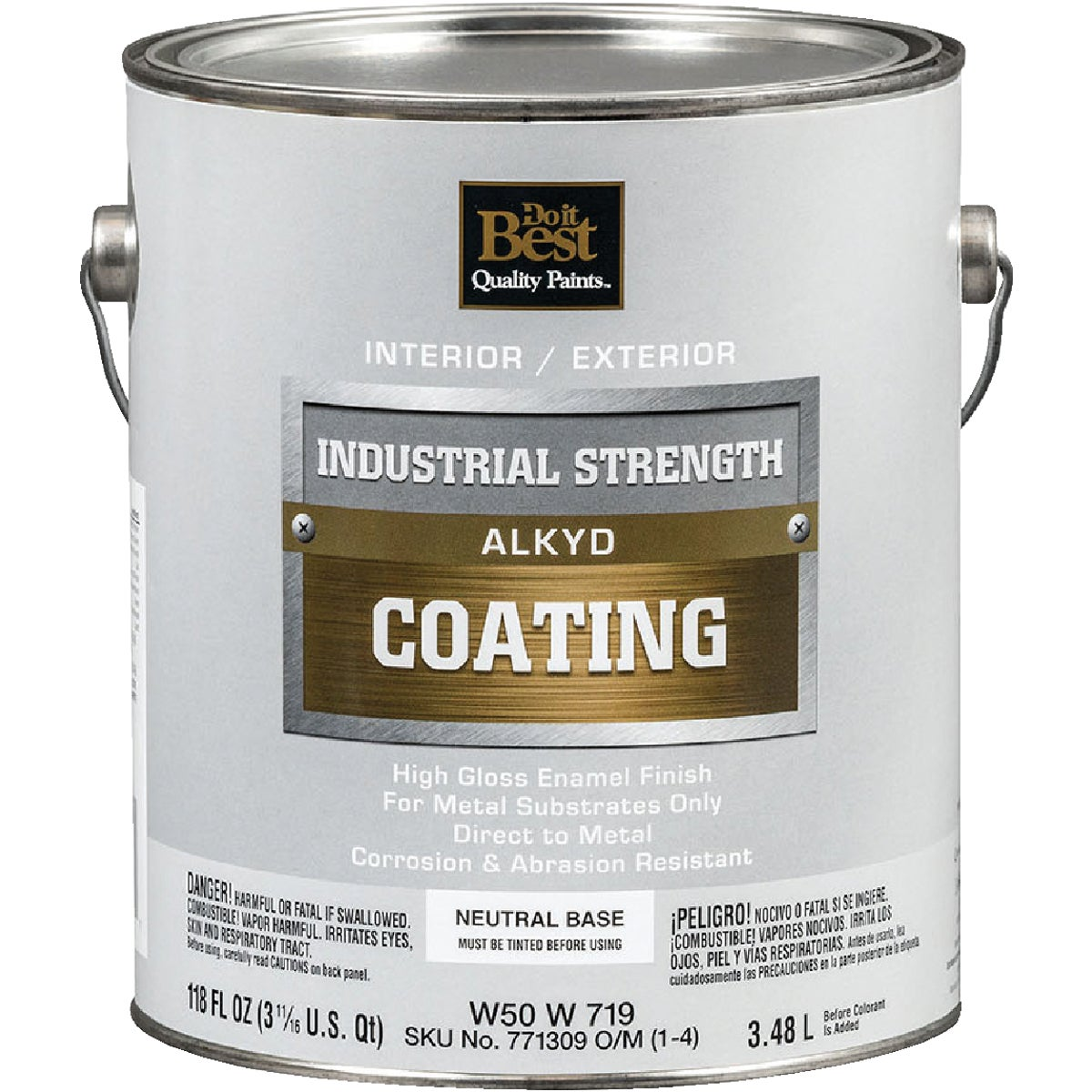 GLS NEUTR BS ALKYD PAINT