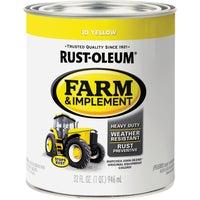 Rust Oleum JD YELLOW IMPLMNT ENAMEL 7443-502